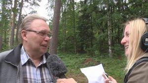 Hanna Sihlman intervjuar Peter Söderström