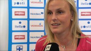 Annica Sjölund, damlandslaget