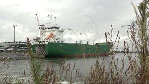 Lastfartyget Mimer i Vasa hamn