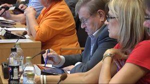 Vasa stadsfullmäktige fick pekplattor