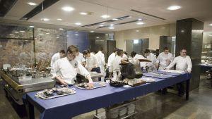 Ett av köken i El Bulli.