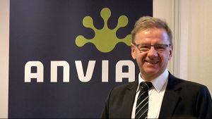 Anvias styrelseordförande Bengt Beijar.