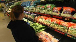 Färska grönsaker är rariteter i fattiga områden
