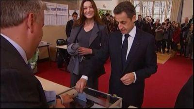 Carla Bruni-Sarkozy och Nicolas Sarkozy