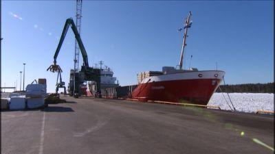 fartyg i kaskö hamn