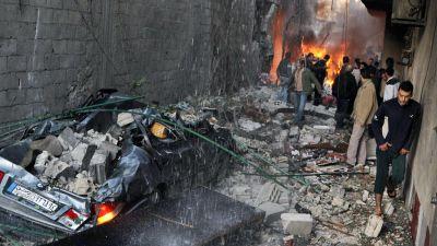 Bilbomb dodade flera civila i damaskus