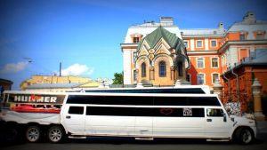 Hummer-limusiini Venäjällä