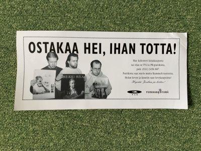 Kummeleiden mainos seinäkalentereista.