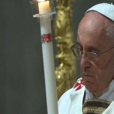 Påven höll påskmässa