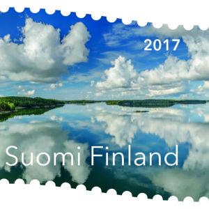 Finlands vackraste frimärke 2017 är ett foto taget från Norrströmsbron i Nagu.