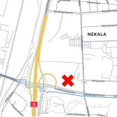 Karttagrafiikka Nekalasta