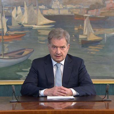 President Sauli Niinistös nyårstal 2019