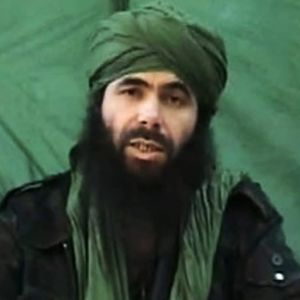 Pohjois-Afrikan Al-Qaidan surmattu johtaja Abdelmalek Droukdel vuonna 2010.