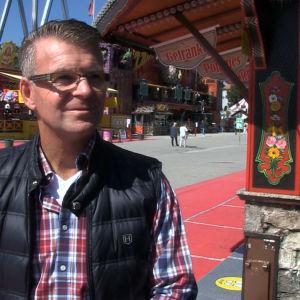Företagaren Josef Diebold äger en karusell