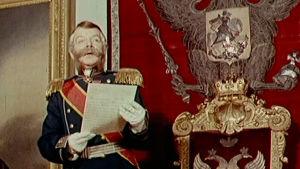 Näyttelijä esittää Aleksanteri II
