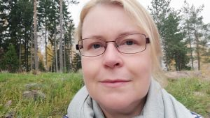 Marie Bergman-Auvinen är ordförande för grundtrygghetsnämnden i Ingå.