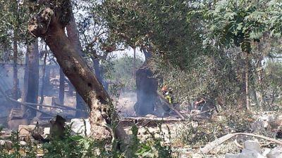 Åtminstone sju människor har dött och flera skadats i en explosion i en italiensk fyrverkerifabrik.