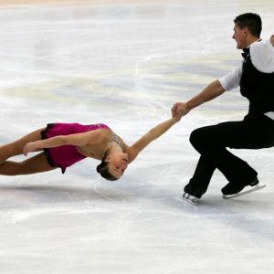Emilia Simonen och Matthew Penasse kvalade in till hemma-VM.