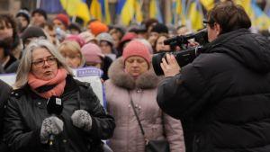 Kerstin Kronvall rapporterar från Kiev.
