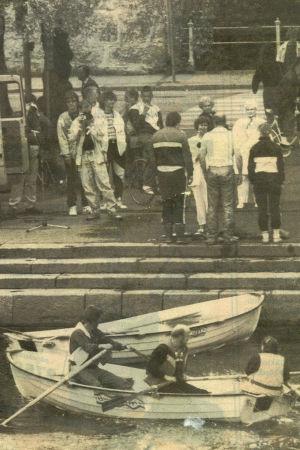 Roddtävling som arrangerades av Radio Östnyland. Borgåbladet 1989.