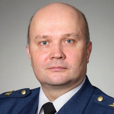 Lapin lennoston komentaja Mikko Kauppala