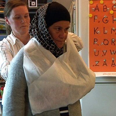turvapaikanhakija ensiapukoulutus Rovaniemi spr