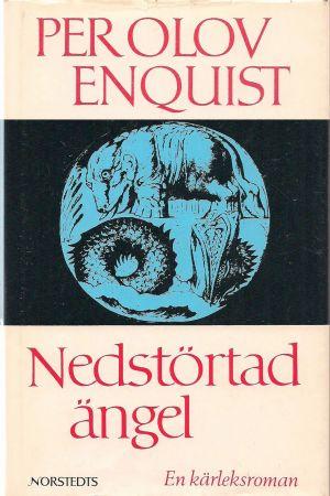 "Pärmbild till P O Enquists roman ""Nedstörtad ängel""."