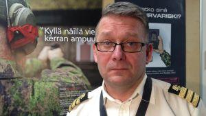 Kommendörskapten Jarkko Miettinen i Tammerfors.