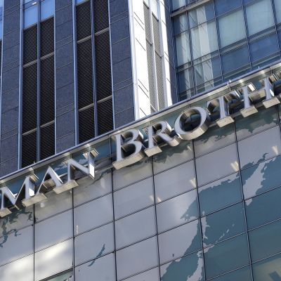 Investointipankki Lehman Brothersin romahdus vuonna 2008 käynnisti maailmanlaajuisen pankkikriisin.