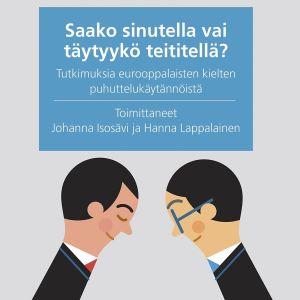 Johanna Isosävi ja Hanna Lappalaisen tietokirjan kansi