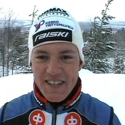 Hiihtäjä Sami Jauhojärvi 2001