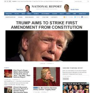 Kuvakaappaus National Report -sivustosta.