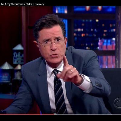 Stephen Colbert i Late Night with Stephen Colbert.