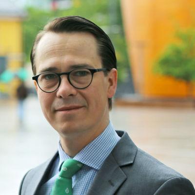 Politikern Carl Haglund.