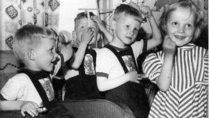 Jouppilan neloset kesäkuussa 1956.