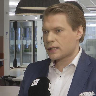 Universitetsforskare Timo Miettinen.