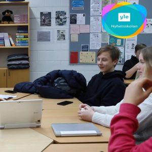 nyhetsskolan på skolbesök