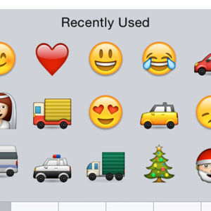 Emoji, Muffe