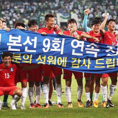 Sydkorea klart för fotboll-VM 2018.