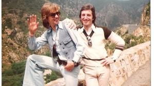 Björn Skifs och Bengt Palmersi i Los Angeles 1974