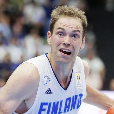 Petteri Koponen i landslaget.