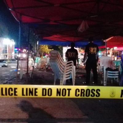 Bombdåd i Davao i Filippinerna 2.9.16
