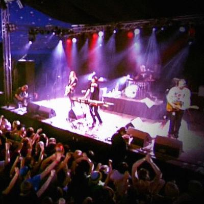 Risto-yhtye keikalla 2007.
