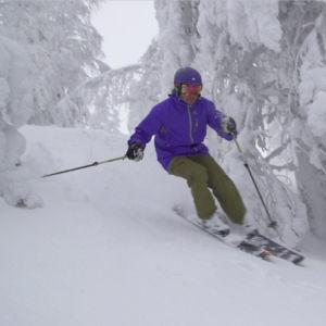 Tom Nylund tar sig till Pyhä för att testa att åka offpist för första gången.