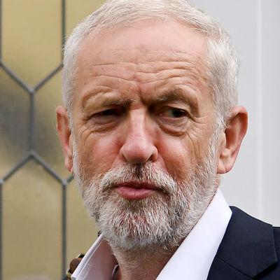 Den brittiska oppositionsledaren Jeremy Corbyn