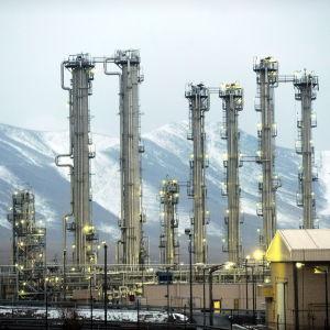 Tungvattenreaktor i Arak, Iran.