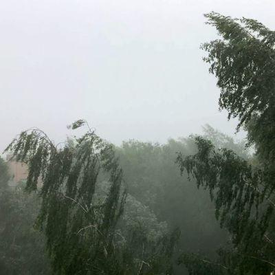 Talissa myrskysi keskiviikkona
