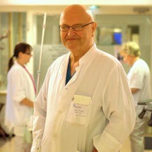 Kalervo Werkkala, ny överläkare i hjärtkirurgi i Vasa.