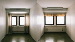 Tyhjiä huonetiloja