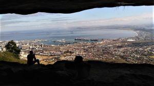 Maisemakuva Etelä-Afrikasta.